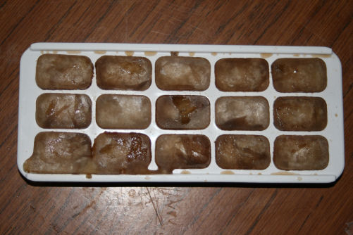 15 prototype pepsi ice cubes, each worth more than it's weight in gold.